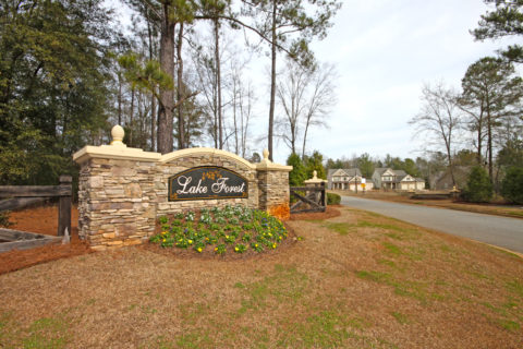 Lake Forest Subdivision