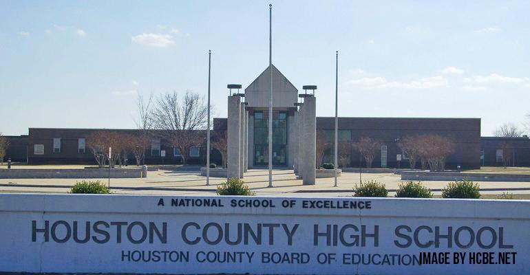Houston County High School in Warner Robins, GA